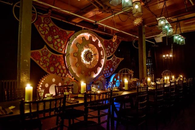 Steampunk dinner  themed (1)